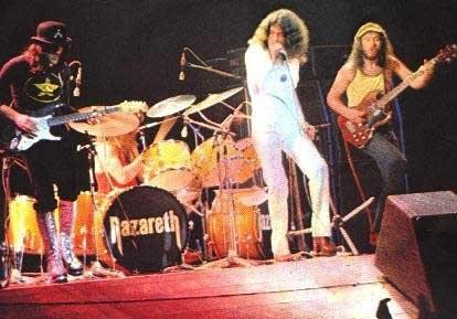 Концерты Nazareth
